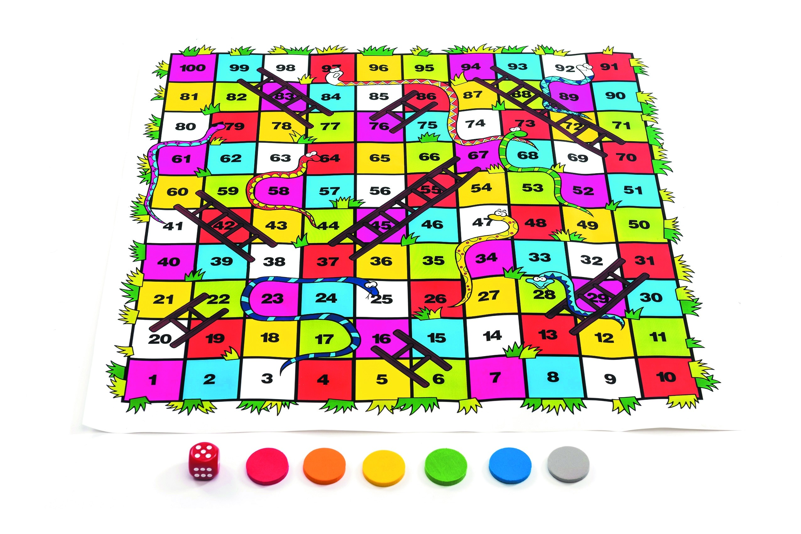 Large Floor Snakes and Ladders