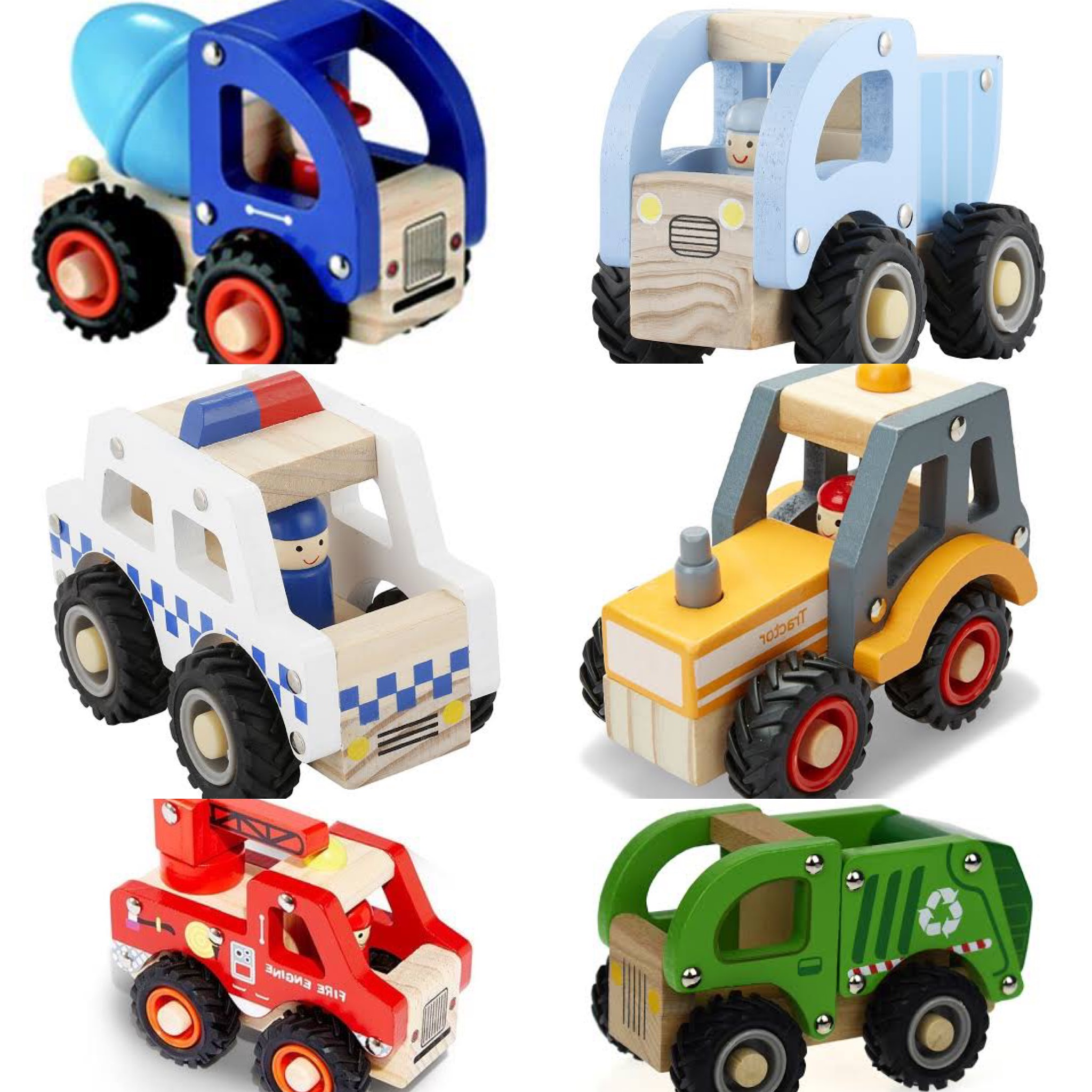 Wooden Assorted Vehicles photo